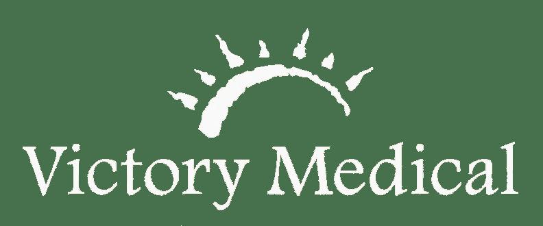 Victorymed Logo White